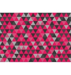 Retro triangle pattern good friends vector