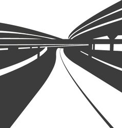 Road abstract background vector image