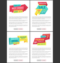 Sale only tomorrow discount vector
