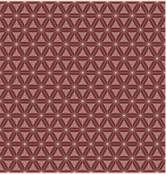 seamless pattern triangular chocolate bar vector image
