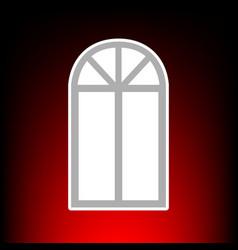 window simple vector image