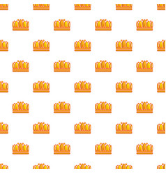 Earl crown pattern seamless vector