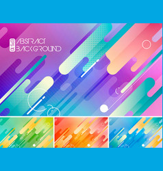 Modern stripes abstract background vector