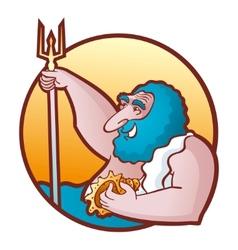 Neptune poseidon vector