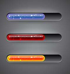 preloading bars vector image