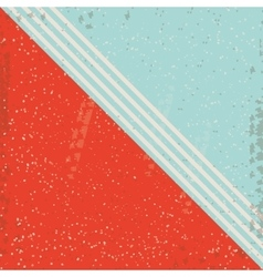 Retro and striped background design vector image