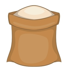 Salt icon cartoon style vector