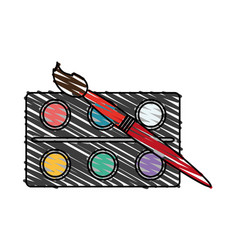 School supply icon image vector