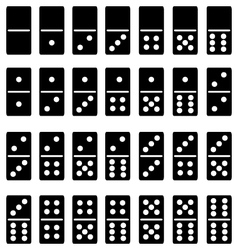 domino vector image