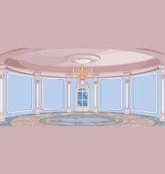 Palace hall vector