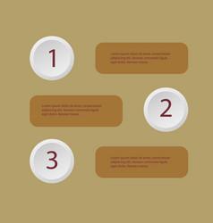 5 steps modern arrow infographic template vector