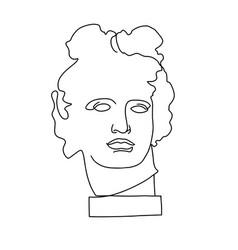 Apollo classical antique classical vector