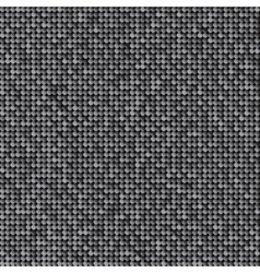 Background with shiny silver sequins vector image
