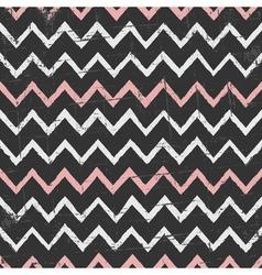 Chalkboard style seamless chevron pattern vector