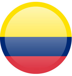 flag of colombia accurate dimensions elements vector image