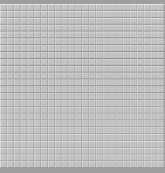 Mosaic of beveled tiles basic colorless tileable vector