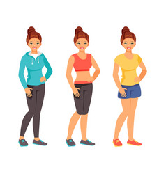 sports clothing vector image