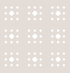 subtle minimal polka dot seamless pattern in vector image