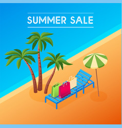 summer sale concept 03 vector image