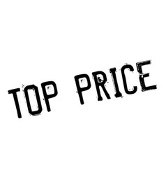 Top price rubber stamp vector