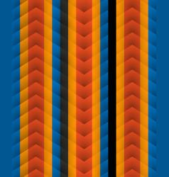chevron pattern seamless arrows geometric design vector image vector image