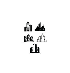 building logo icon vector image