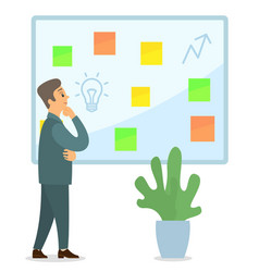 Business idea development strategies generation vector