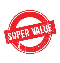 Super value rubber stamp vector