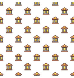bank pattern vector image