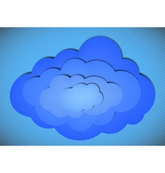 Cloud Background vector image vector image