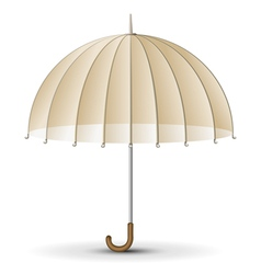 Retro sun umbrella vector image vector image