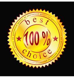 best label-sticker vector image