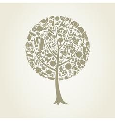 Tree spa vector image vector image