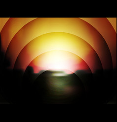 abstract dark background of sunset vector image