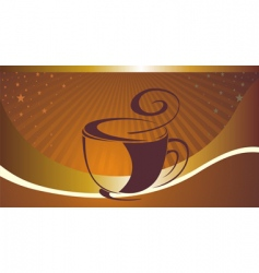 coffee cup design vector image