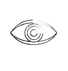 Figure eye human anaomy to optical graphic vector