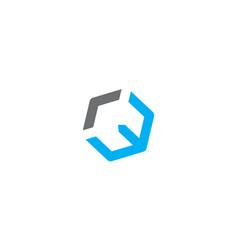 Letter w modern vector