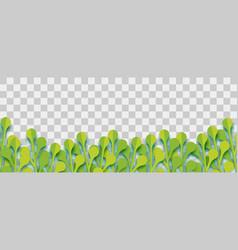 lush plant paper origami vector image