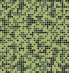 Mosaic camouflage style vector image