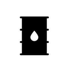 oil barrel icon flat web sign symbol logo label vector image