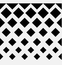 seamless halftone pattern with squares repeatable vector image