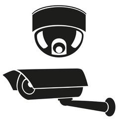 Video surveillance camera 06 vector