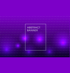 violet party background vector image