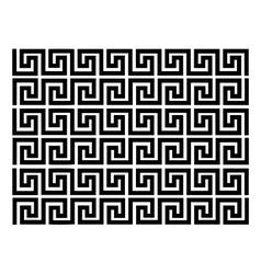 Geometric block pattern vector image vector image