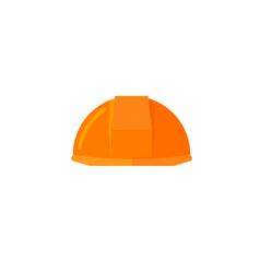 helmet construction icon flat vector image