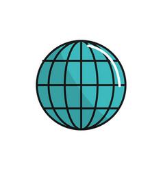 global internet digital service connect vector image vector image