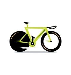 Bicycle Cartoon vector image