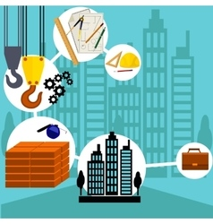 Building Process Success Engineer vector image
