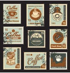 coffee brand vector image