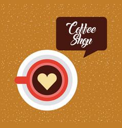 Coffee delicious symbol flat vector